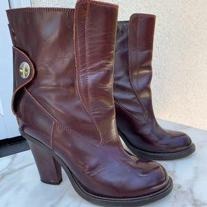 Chloe Moto Boots